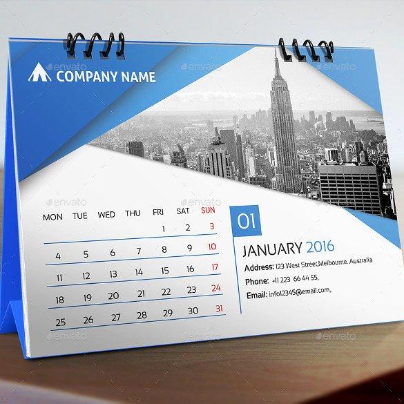 In Design Calendar Template Best Of Desk Calendar Template – 30 Free Psd Ai Indesign Eps