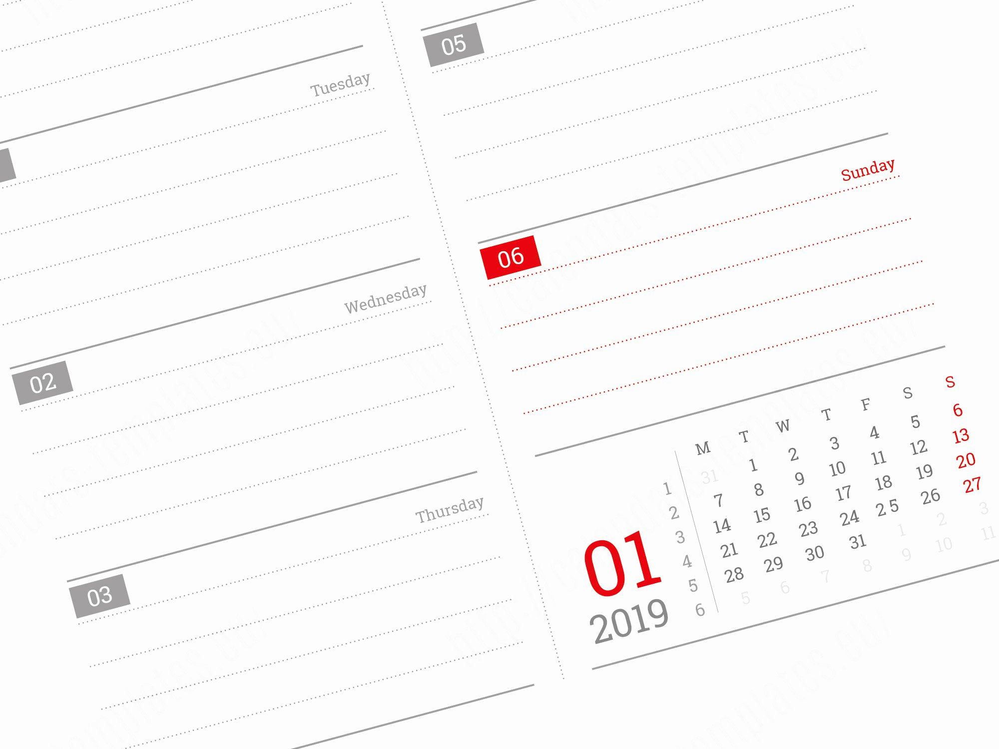 In Design Calendar Template Fresh 2019 Daily Planner Template with Image In Pdf and Indesign