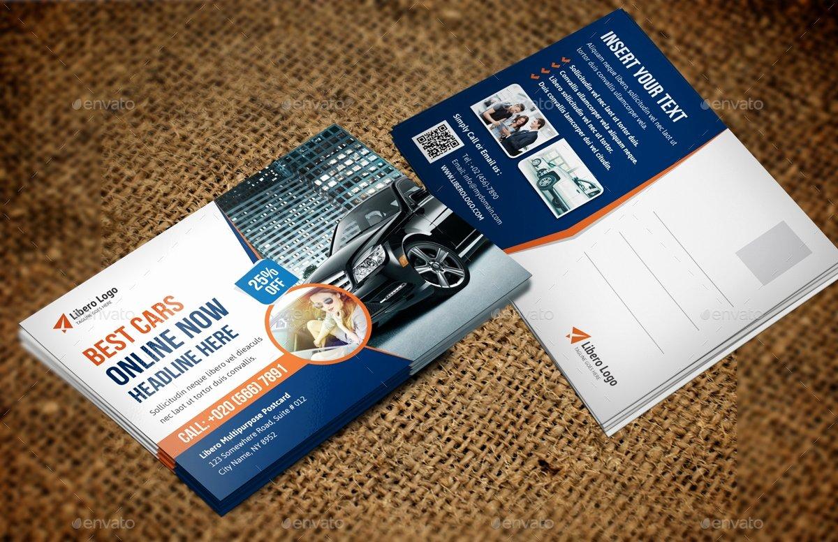 In Design Postcard Template Luxury 12 Modern Postcard Templates