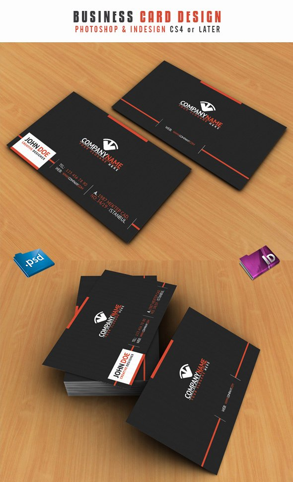 In Design Postcard Template New 15 Premium Business Card Templates In Shop