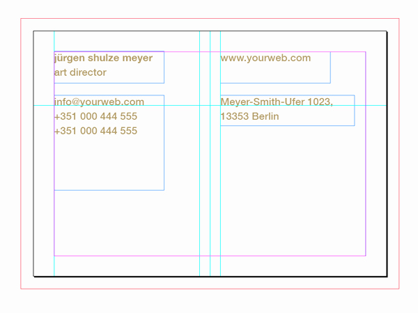 In Design Postcard Template New How to Customise A Business Card Template In Adobe Indesign