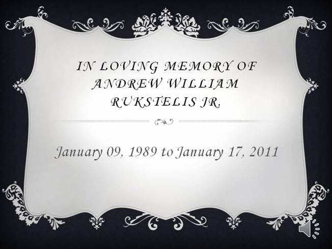 In Memory Of Template Beautiful In Loving Memory Powerpoint Template In Loving Memory