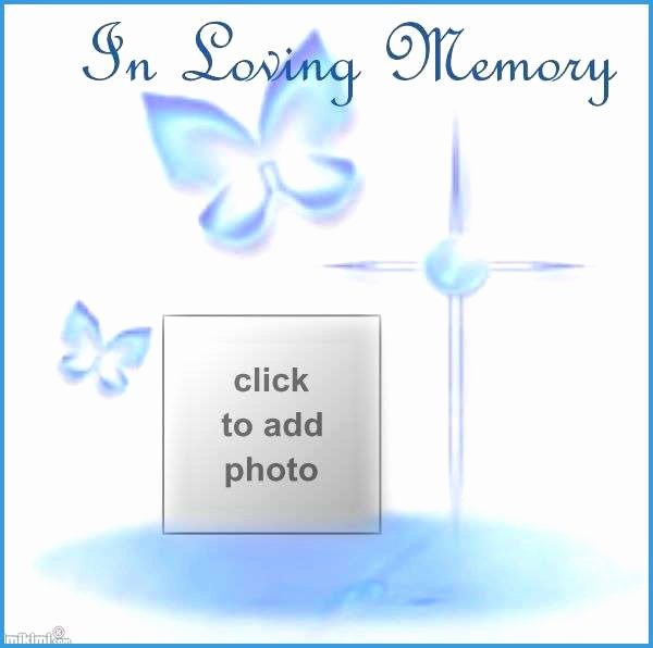 In Memory Of Template Lovely In Loving Memory Template Free Lovely In Loving Memory