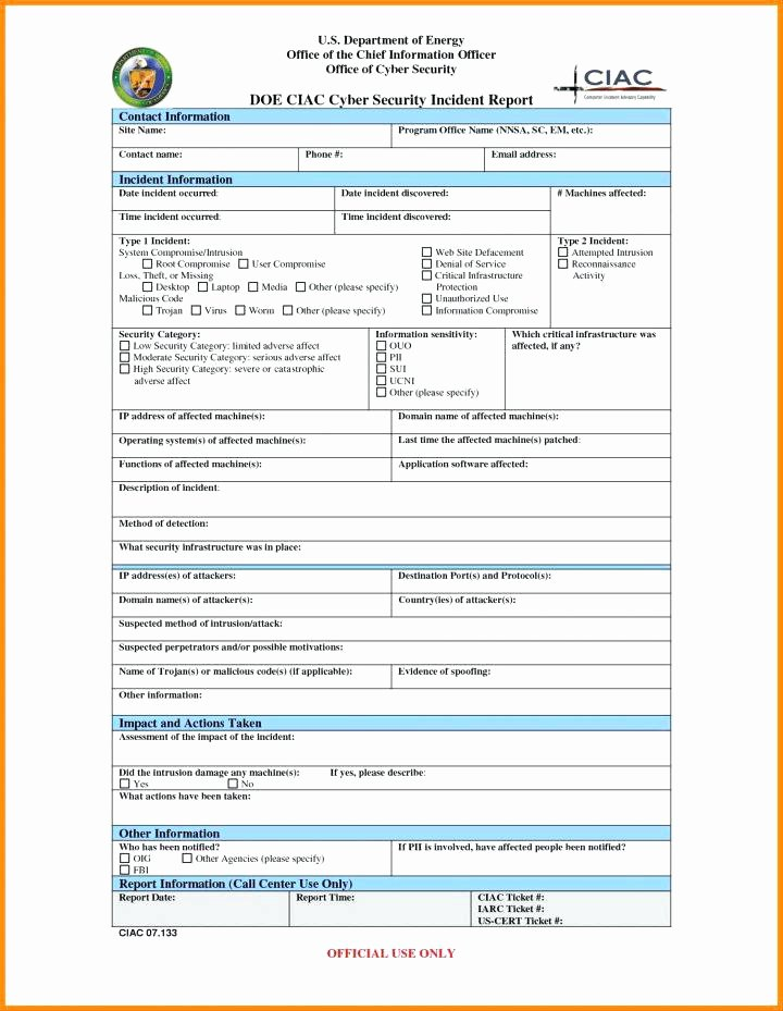 Incident Response Plan Template Elegant Data Breach Incident Response Plan Template – Updrill