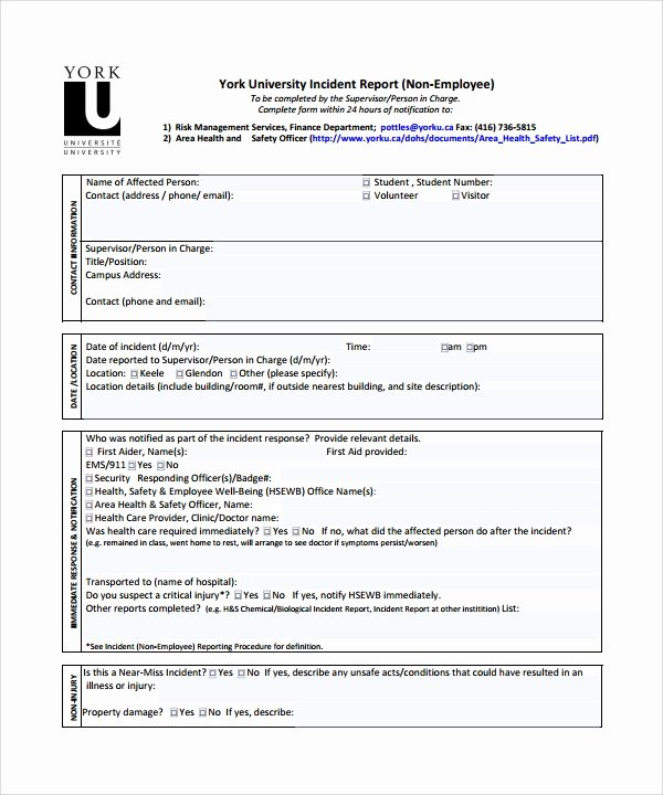 Incident Response Report Template Elegant How to Write A Security Incident Report Example