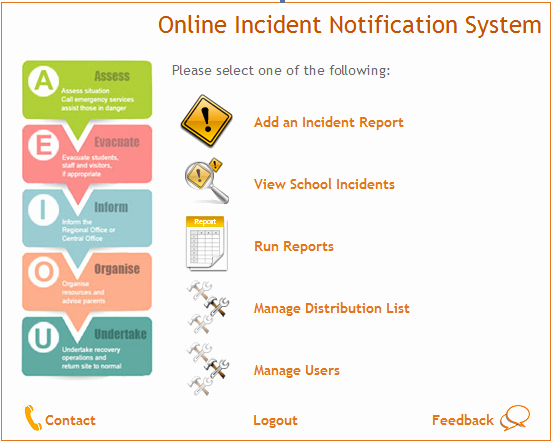 Incident Response Report Template Fresh Incident Reporting Evaluation and Accountability the