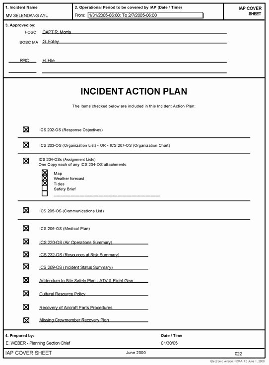 Incident Response Report Template New Incident Response Plan Template