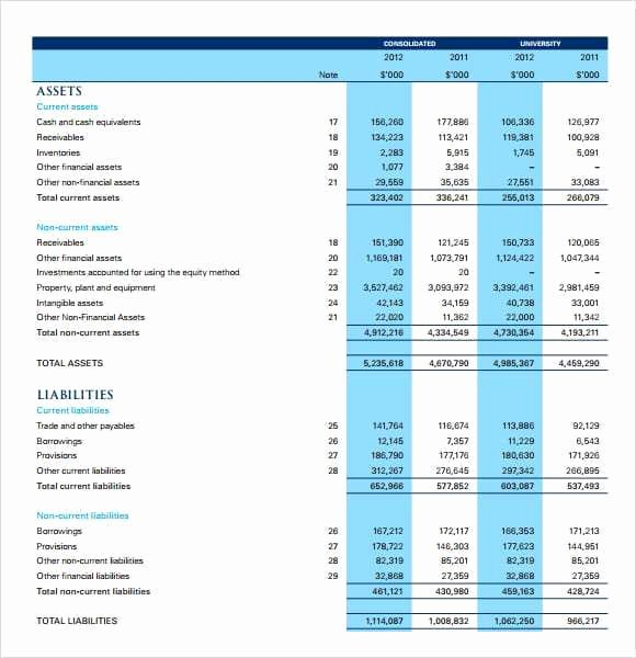 Income Statement Template Word Awesome 6 Free In E Statement Templates Word Excel Sheet Pdf