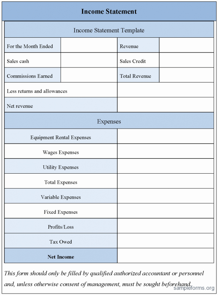 Income Statement Template Xls Beautiful Free Excel In E Statement Template 2 Simple In E