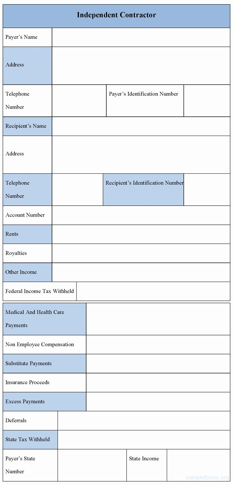 Independent Contractor Invoice Template Fresh Sample Independent Contractor Invoice Invoice Template Ideas