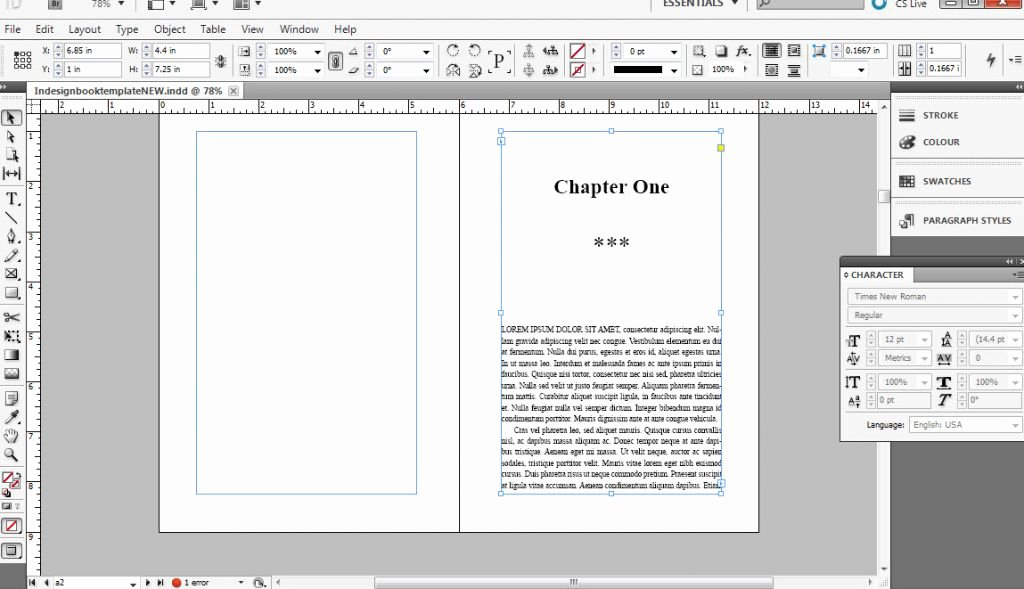 Indesign Book Cover Template Fresh How to format A Book In Indesign Free Templates