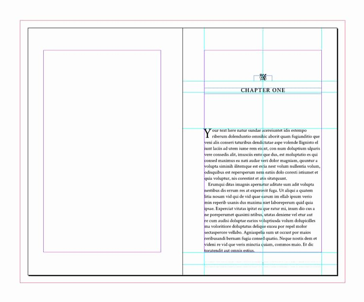 Indesign Book Cover Template Luxury Full Book Template for Indesign