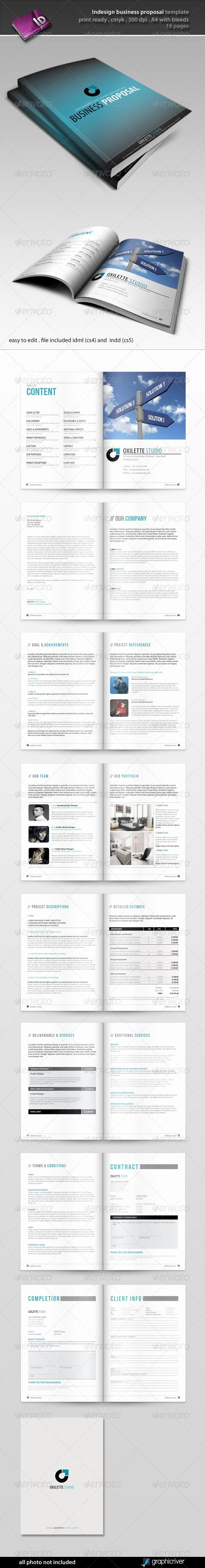 Indesign Business Plan Template Awesome Indesign Business Proposal Template
