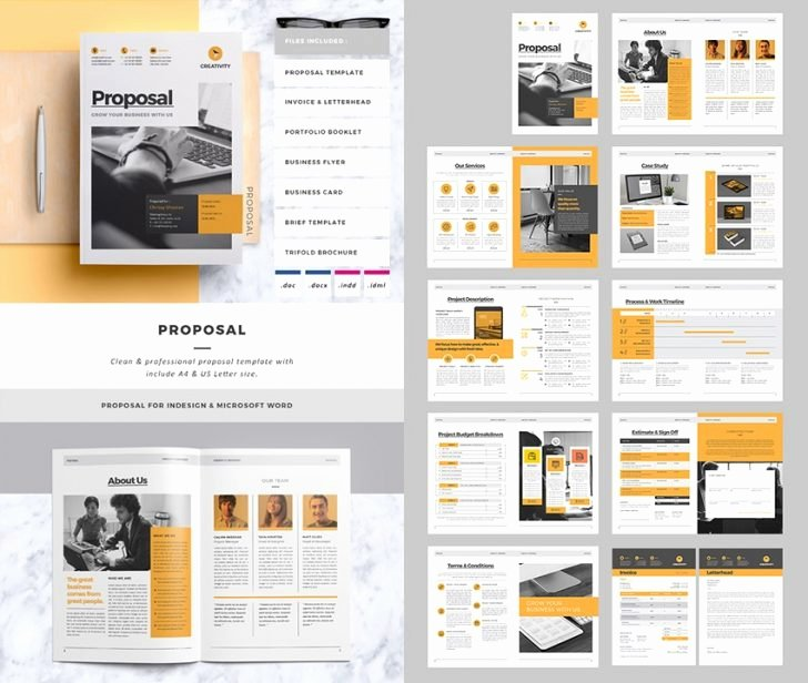 Indesign Business Plan Template Beautiful Free Proposal Template Indesign Indesign Proposal Template