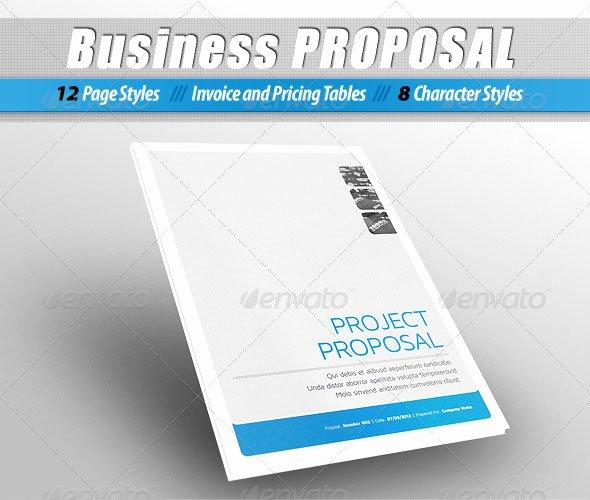 Indesign Business Plan Template Elegant Indesign Proposal Template Free
