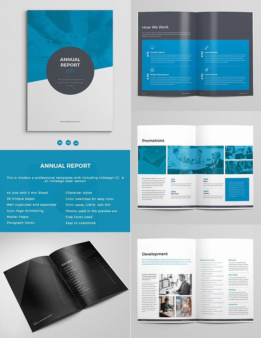 Indesign Business Plan Template Inspirational Bold Annual Report Template Indesign Design Set