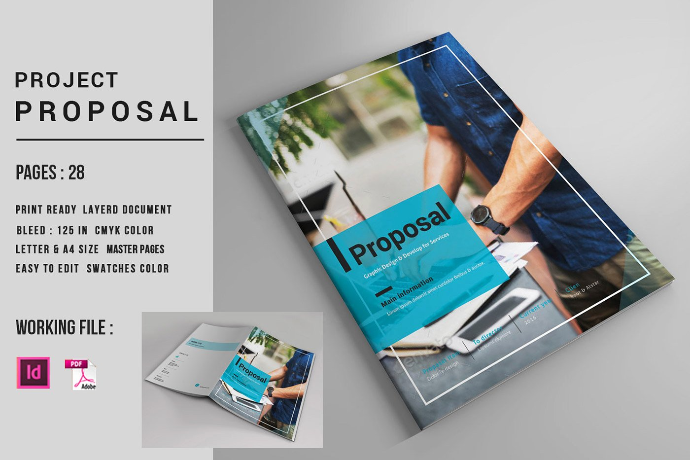 Indesign Business Plan Template Luxury Indesign Business Proposal Template On Behance