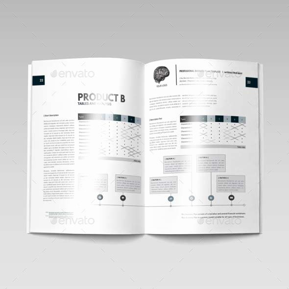 Indesign Business Plan Template Unique Business Plan Template Indesign Rusinfobiz