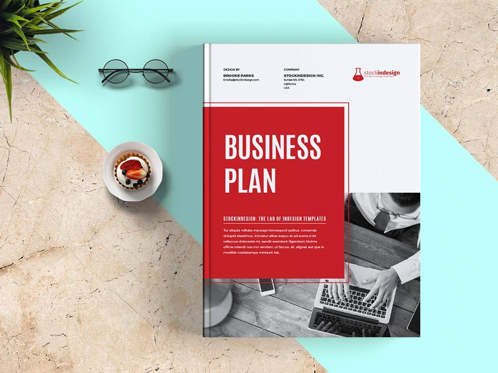 Indesign Business Plan Template Unique Business Plan Template