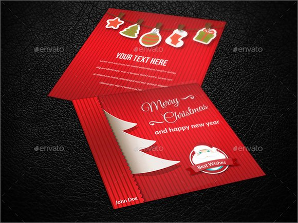 Indesign Greeting Card Template Unique 21 New Year Greeting Card Templates to Download