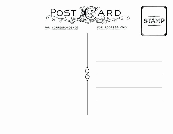 Indesign Postcard Template Free Awesome Standard Postcard Template Indesign Design and Mailing