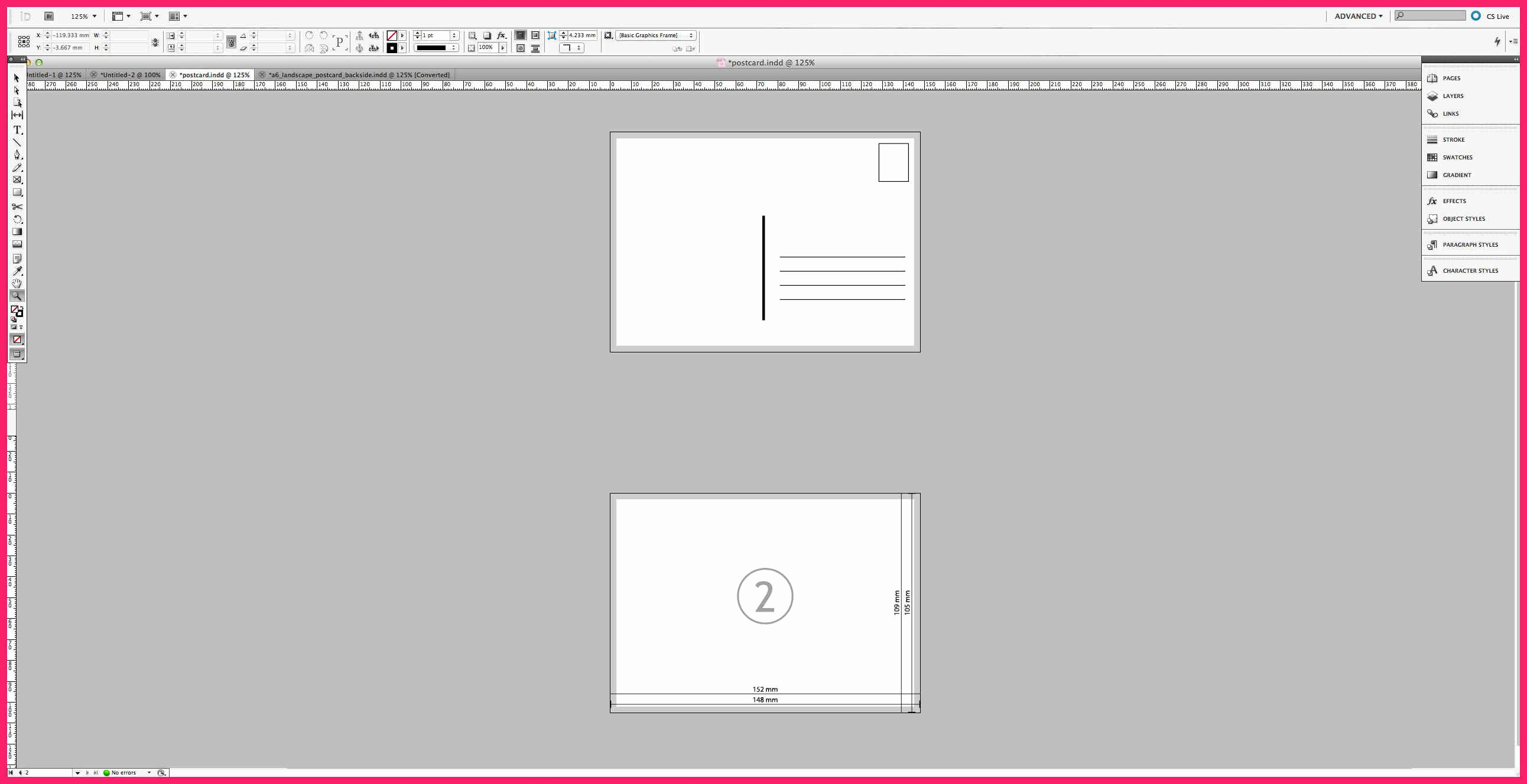 Indesign Postcard Template Free Best Of Indesign Postcard Template