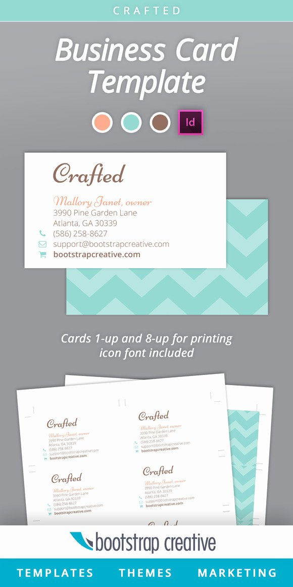 Indesign Postcard Template Free Luxury Business Card Template Indesign 8 Up Business Card