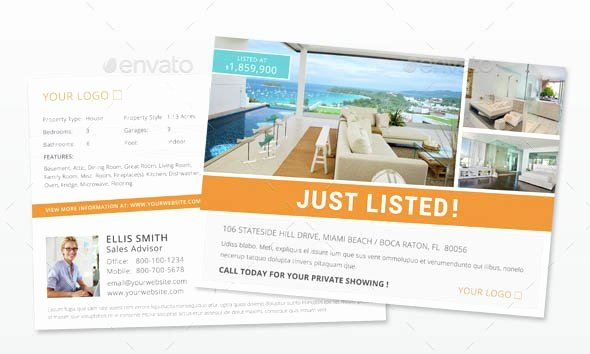 Indesign Postcard Template Free Unique Indesign Flyer Templates top 50 Indd Flyers for 2018