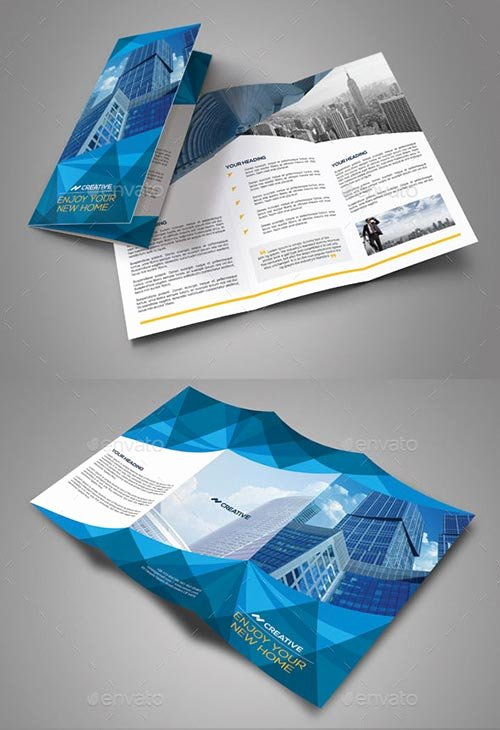 Indesign Trifold Brochure Template Awesome 30 Inspiring Psd & Indesign Brochure Templates