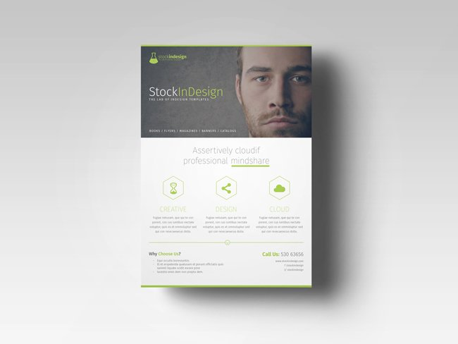 Indesign Trifold Template Free Awesome Free Indesign Template Of the Month Corporate Flyer