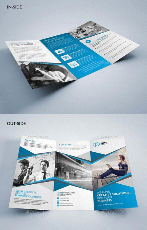 Indesign Trifold Template Free Fresh 30 Inspiring Psd & Indesign Brochure Templates