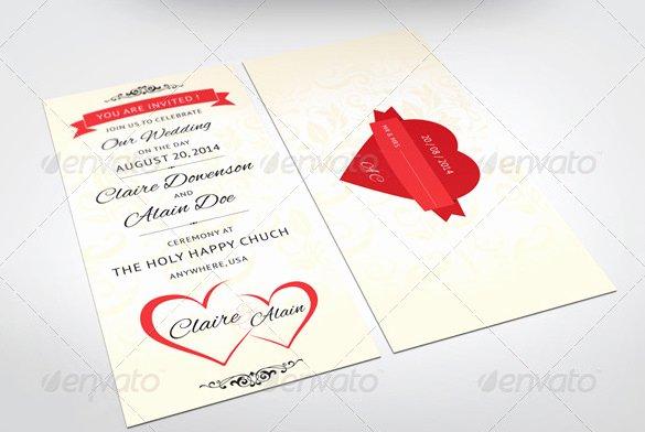Indesign Wedding Program Template Luxury 24 Wedding Place Card Templates Psd Ai