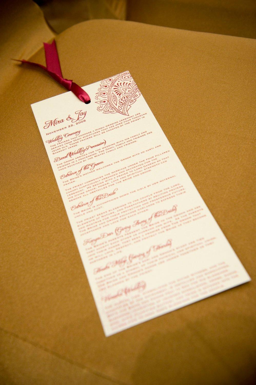 Indian Wedding Program Template Beautiful Custom Wedding Program and or Indian Wedding Invitation Suite