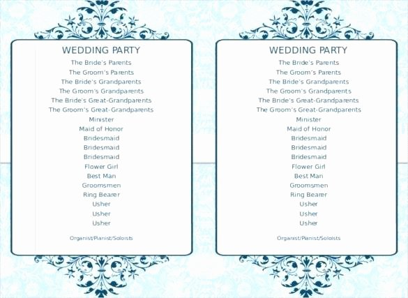 Indian Wedding Program Template New Greenery Editable and Printable Wedding Program Main V