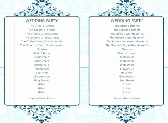 Indian Wedding Program Template New Greenery Editable and Printable Wedding Program Main V