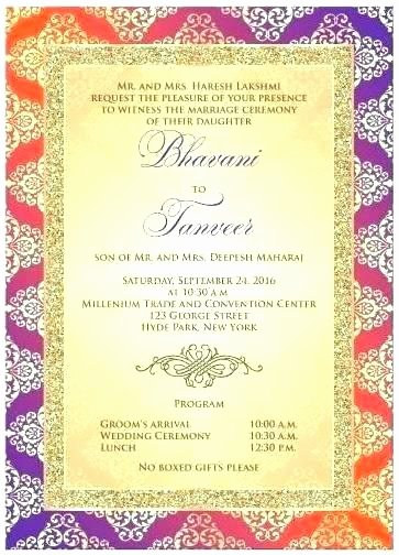 Indian Wedding Program Template Unique Trending Sweet Program Sheets and Itineraries for Weddings