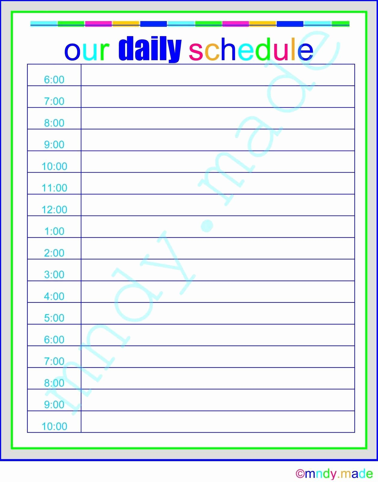 Infant Daily Report Template Luxury Daycare Infant Daily Report Template with Children Daily