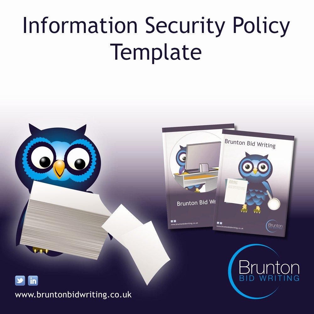 Information Security Program Template Best Of Information Security Policy Template for Recruitment