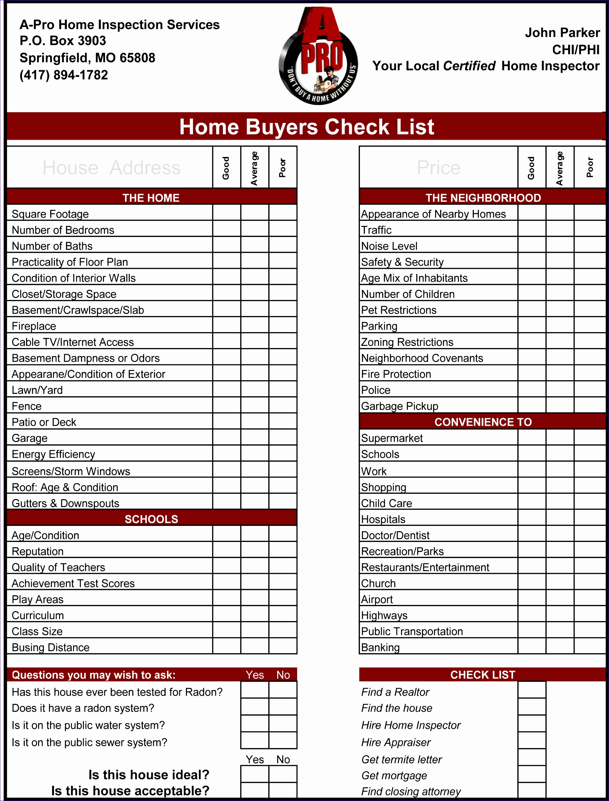 Inspection Checklist Template Excel Unique 11 Work Checklist Template Excel Exceltemplates