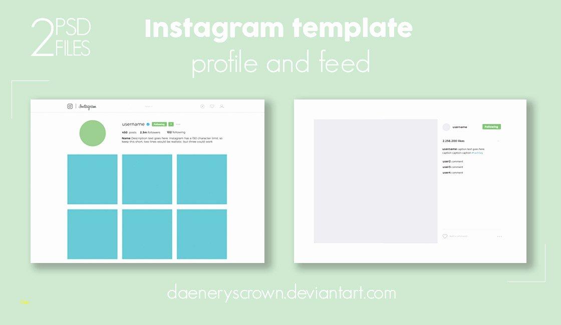 Instagram Post Template Psd Fresh Lovely Instagram Template Psd