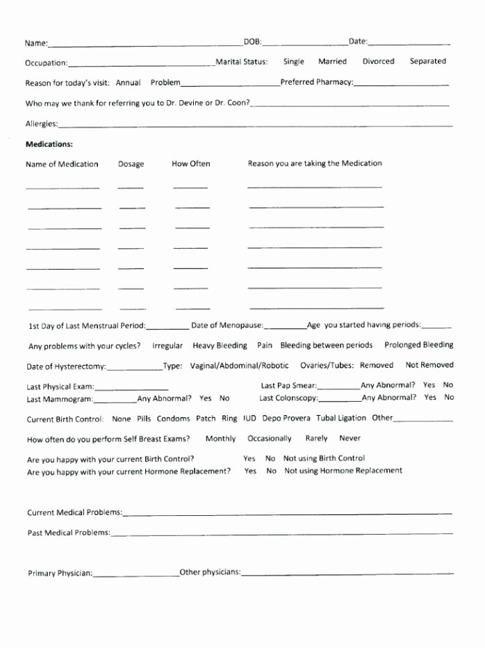 Intake form Template Word Inspirational Project Intake form Template Word Healthcare forms form