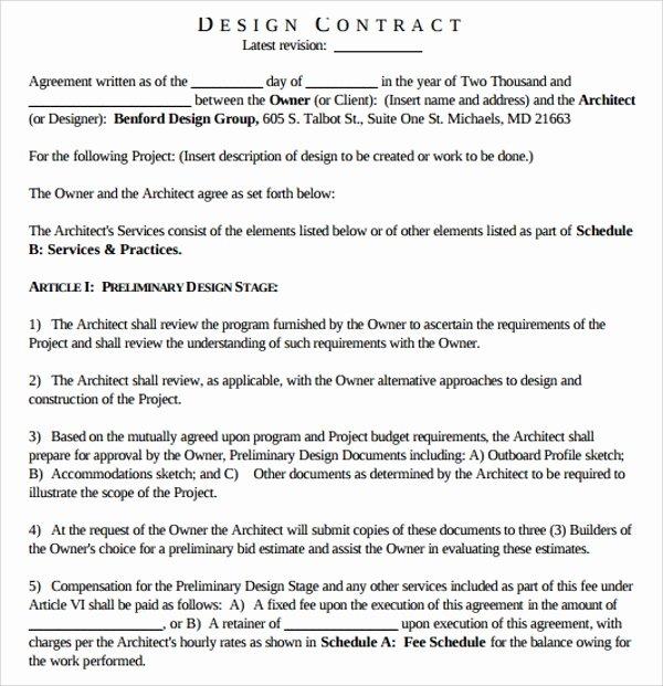 Interior Design Contract Template Elegant 15 Interior Design Proposal Templates