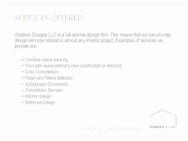 Interior Design Contract Template Inspirational Sample Interior Design Contract Letter Agreement