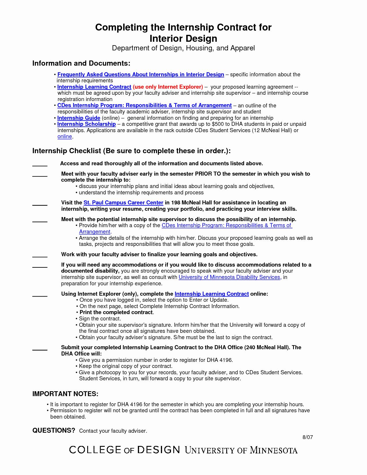 Interior Design Contract Template Unique Interior Design Contract Template