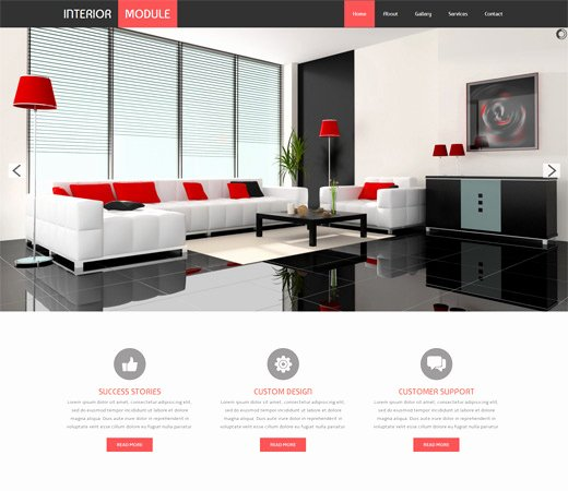 Interior Design Template Free Lovely 16 Best Furniture & Interior Design HTML Web Templates