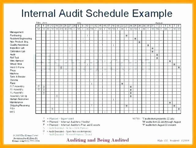 Internal Audit Planning Template Unique Internal Audit Program Template Internal Audit Plan