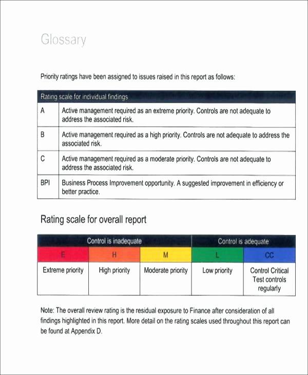 Internal Audit Report Template Best Of Printable Internal Audit Report Template Quality Example