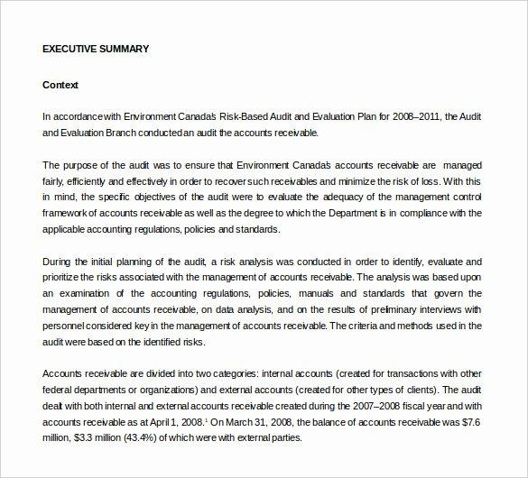 Internal Audit Report Template Fresh 18 Internal Audit Report Templates Pdf Google Docs