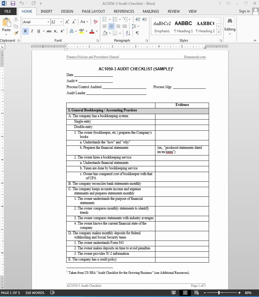 Internal Audit Report Template Inspirational 38 Brilliant Template Samples for Audits Thogati