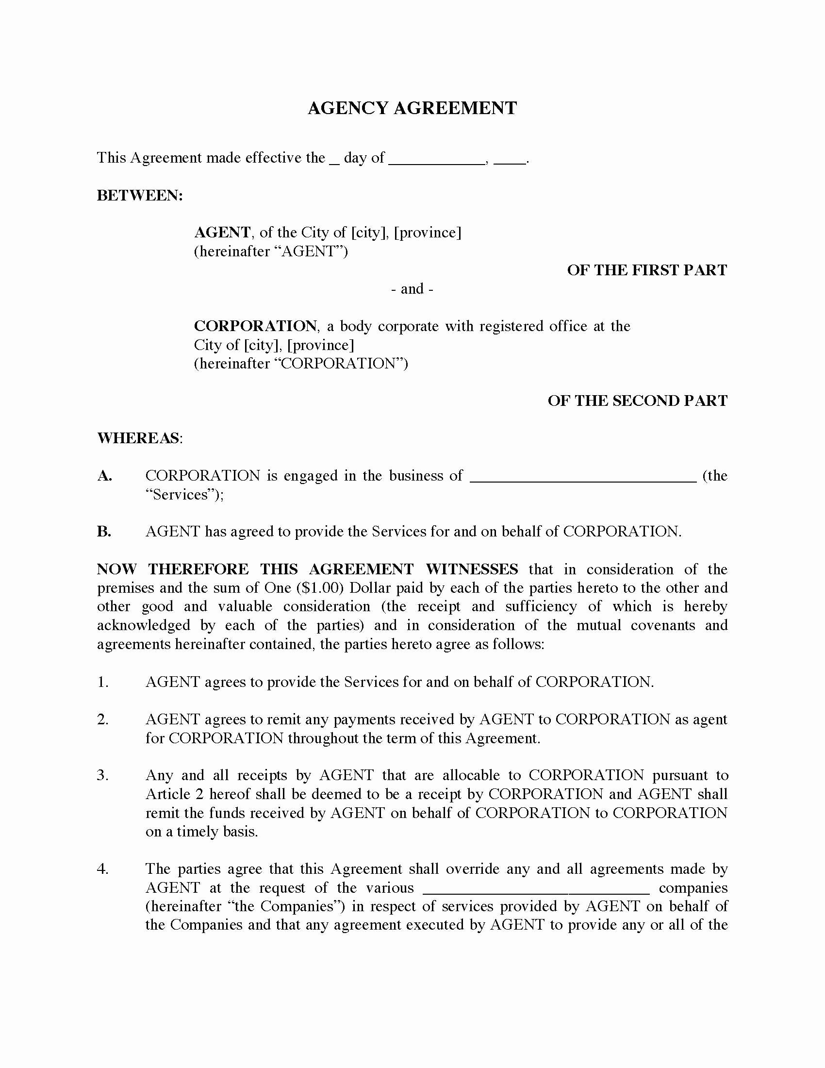 International Distribution Agreement Template Best Of 50 Useful Simple Distribution Agreement Template Se